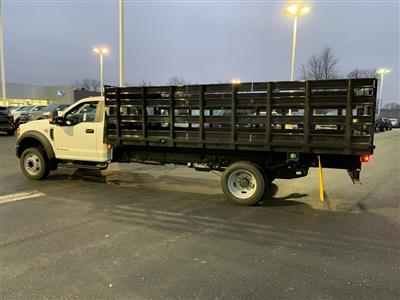 2019 F-550 Regular Cab DRW 4x2,  Parkhurst Toughline Stake Bed #T90443 - photo 2