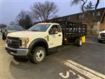 2019 F-550 Regular Cab DRW 4x2,  Parkhurst Toughline Stake Bed #T90443 - photo 1