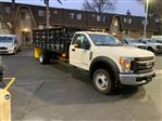 2019 F-550 Regular Cab DRW 4x2,  Parkhurst Toughline Stake Bed #T90443 - photo 4