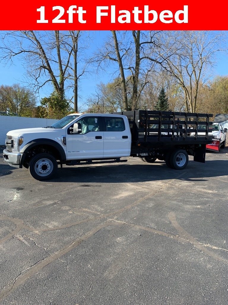 2019 Ford F-550 Crew Cab DRW 4x2, Reading Stake Bed #T94067 - photo 1
