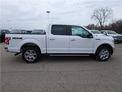 2018 F-150 Crew Cab 4x4, Pickup #FJ1166 - photo 4