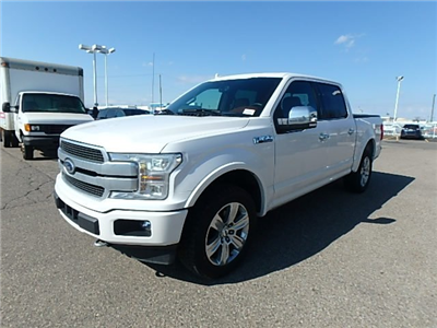 2018 F-150 Crew Cab 4x4, Pickup #FJ1663 - photo 1