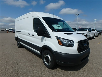 2018 Transit 250 Med Roof 4x2,  Empty Cargo Van #FJ3678 - photo 3
