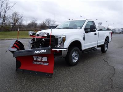 2019 F-250 Regular Cab 4x4,  Western Snowplow Pickup #FK0336 - photo 1