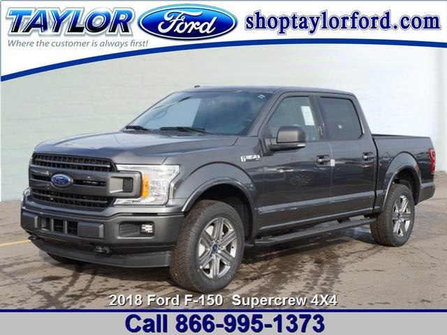 2018 F-150 Crew Cab 4x4 Pickup #29784 - photo 1