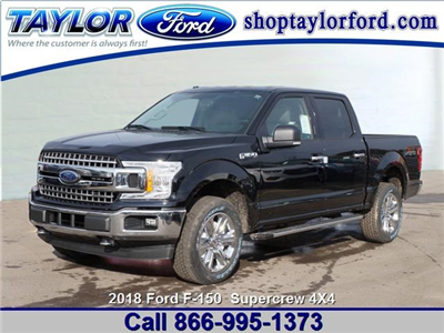 2018 F-150 Crew Cab 4x4 Pickup #B25832 - photo 1