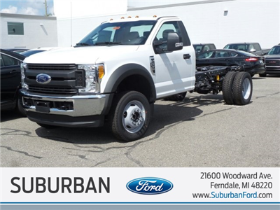 2017 F-550 Regular Cab DRW 4x4 Cab Chassis #FH1886 - photo 1