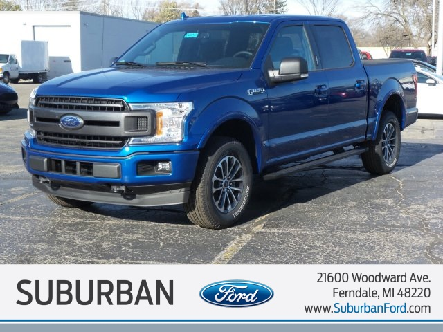 2018 F-150 Crew Cab 4x4, Pickup #FI0112 - photo 1