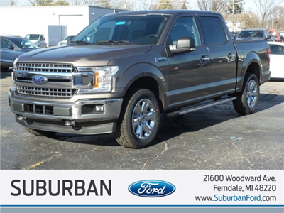 2018 F-150 Crew Cab 4x4, Pickup #FI0161 - photo 1