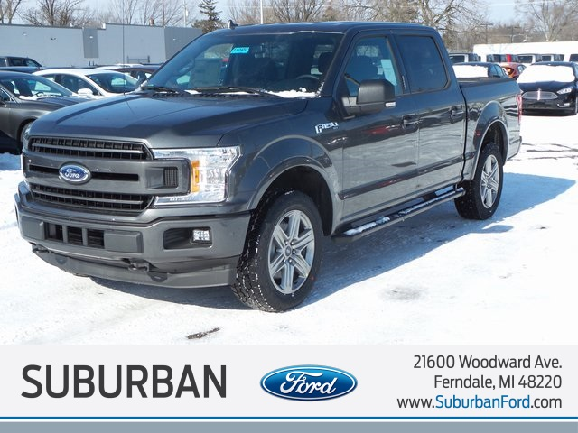 2018 F-150 Crew Cab 4x4, Pickup #FI0455 - photo 1