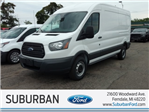2018 Transit 250 Med Roof 4x2,  Empty Cargo Van #FI1390 - photo 1