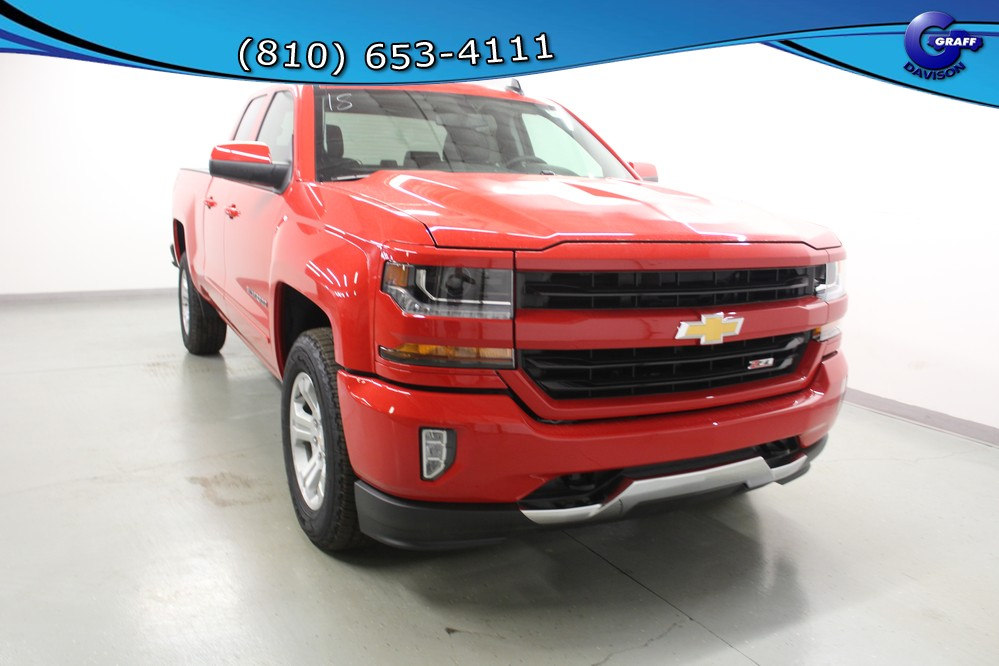 2018 Silverado 1500 Double Cab 4x4, Pickup #6-10261 - photo 5