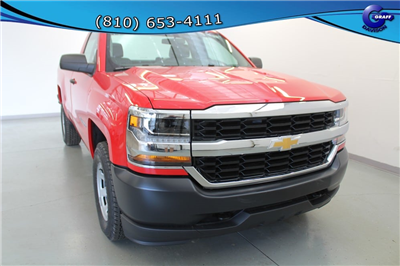 2018 Silverado 1500 Regular Cab 4x4, Pickup #6-10285 - photo 5