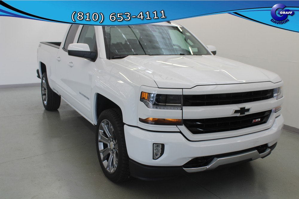 2018 Silverado 1500 Double Cab 4x4, Pickup #6-10484 - photo 5
