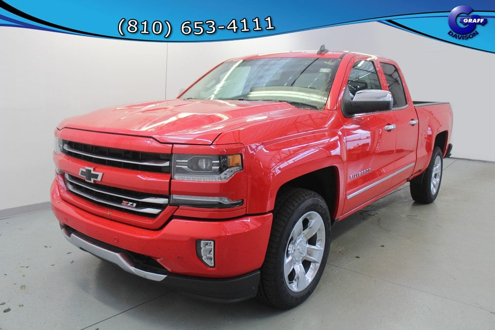 2018 Silverado 1500 Extended Cab 4x4 Pickup #6-10594 - photo 1