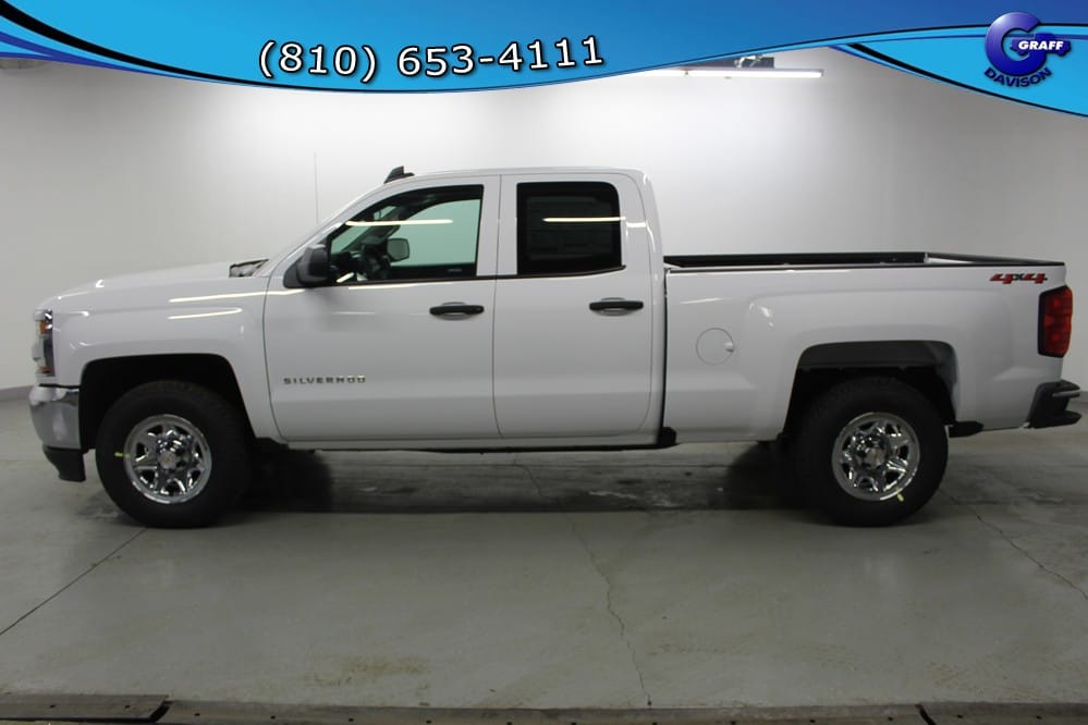 2018 Silverado 1500 Double Cab 4x4, Pickup #6-11549 - photo 3