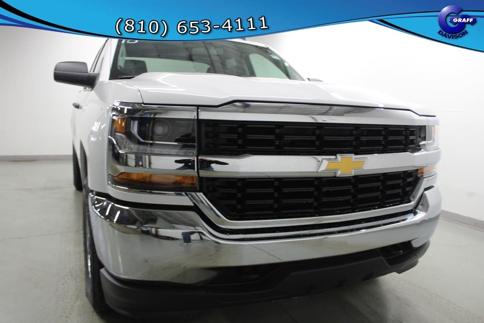 2018 Silverado 1500 Double Cab 4x4, Pickup #6-11549 - photo 8