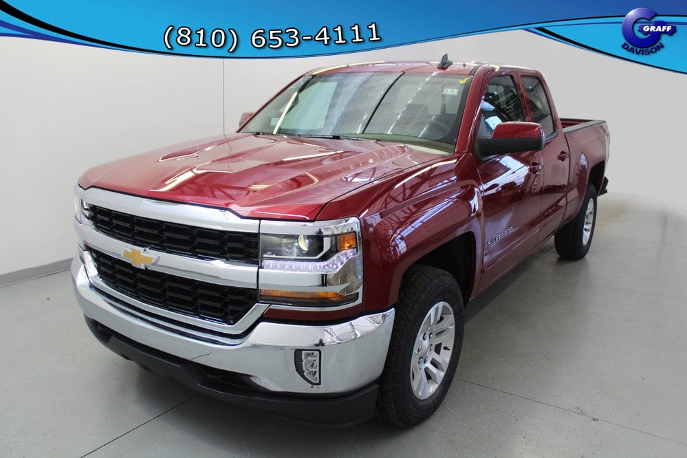 2018 Silverado 1500 Double Cab 4x4, Pickup #6-11713 - photo 1