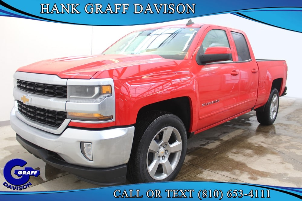 2018 Silverado 1500 Double Cab 4x4,  Pickup #6-12222 - photo 1