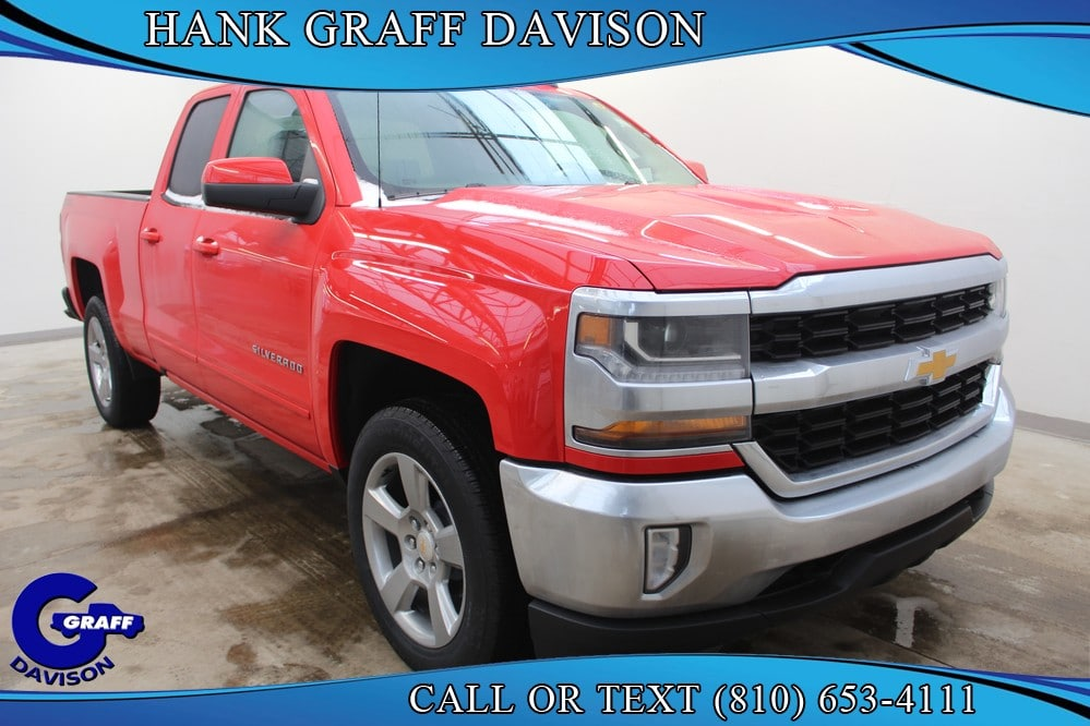 2018 Silverado 1500 Double Cab 4x4,  Pickup #6-12222 - photo 6