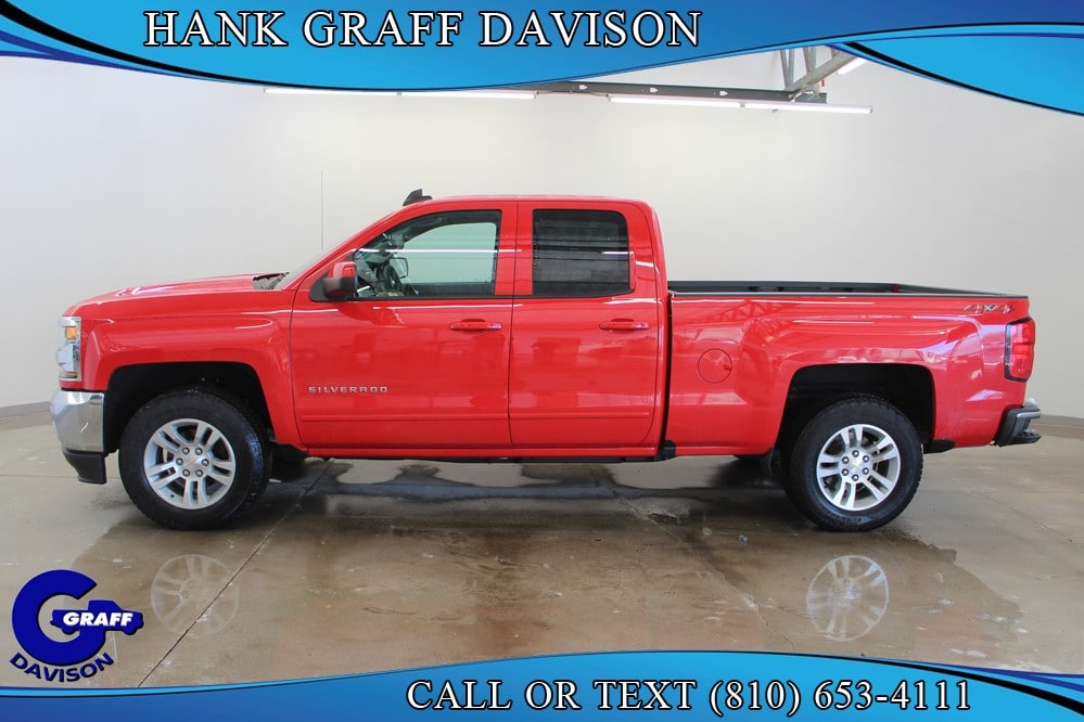 2018 Silverado 1500 Double Cab 4x4,  Pickup #6-12237 - photo 3