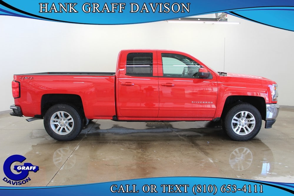 2018 Silverado 1500 Double Cab 4x4,  Pickup #6-12237 - photo 5