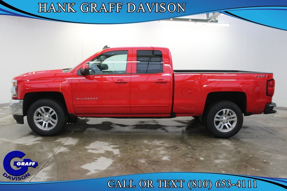 2018 Silverado 1500 Double Cab 4x4, Pickup #6-12299 - photo 4