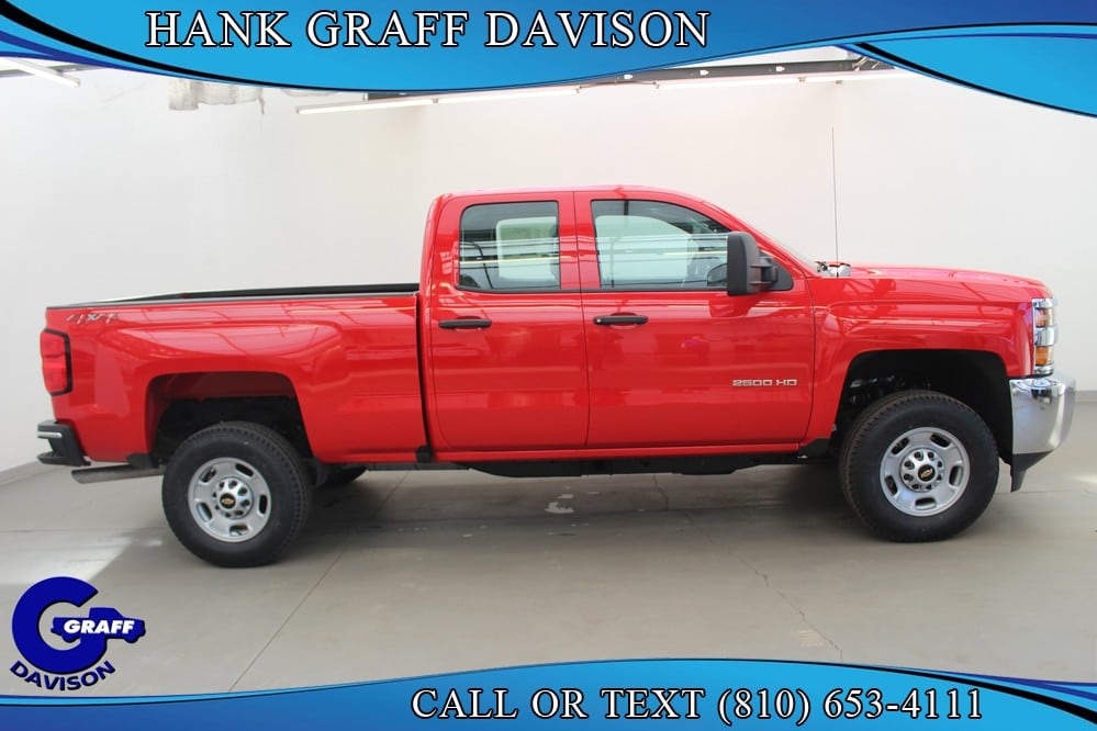 2018 Silverado 2500 Double Cab 4x4, Pickup #6-12393 - photo 8