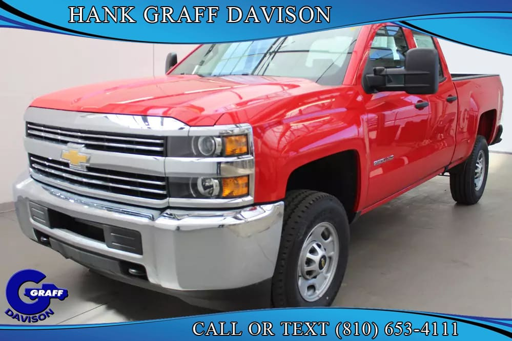 2018 Silverado 2500 Double Cab 4x4, Pickup #6-12393 - photo 1