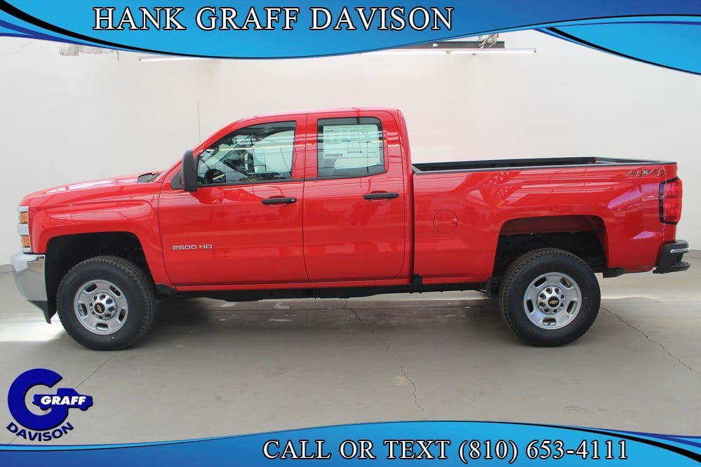 2018 Silverado 2500 Double Cab 4x4, Pickup #6-12393 - photo 3