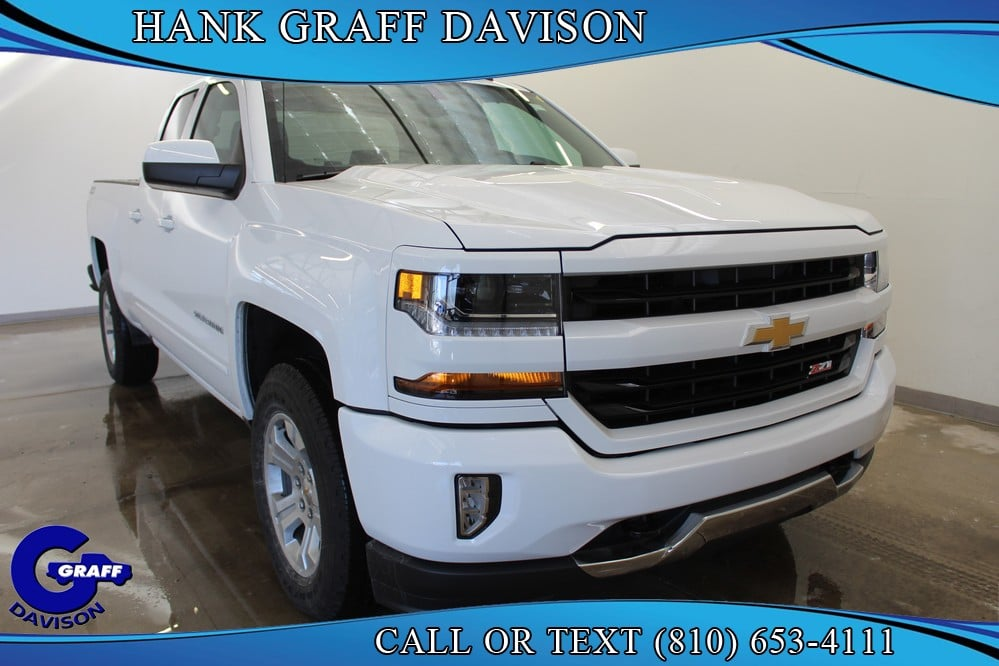 2018 Silverado 1500 Double Cab 4x4, Pickup #6-12597 - photo 6