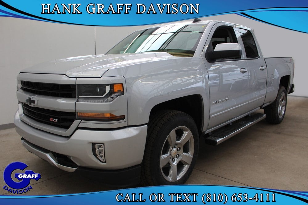 2018 Silverado 1500 Double Cab 4x4,  Pickup #6-12859 - photo 1