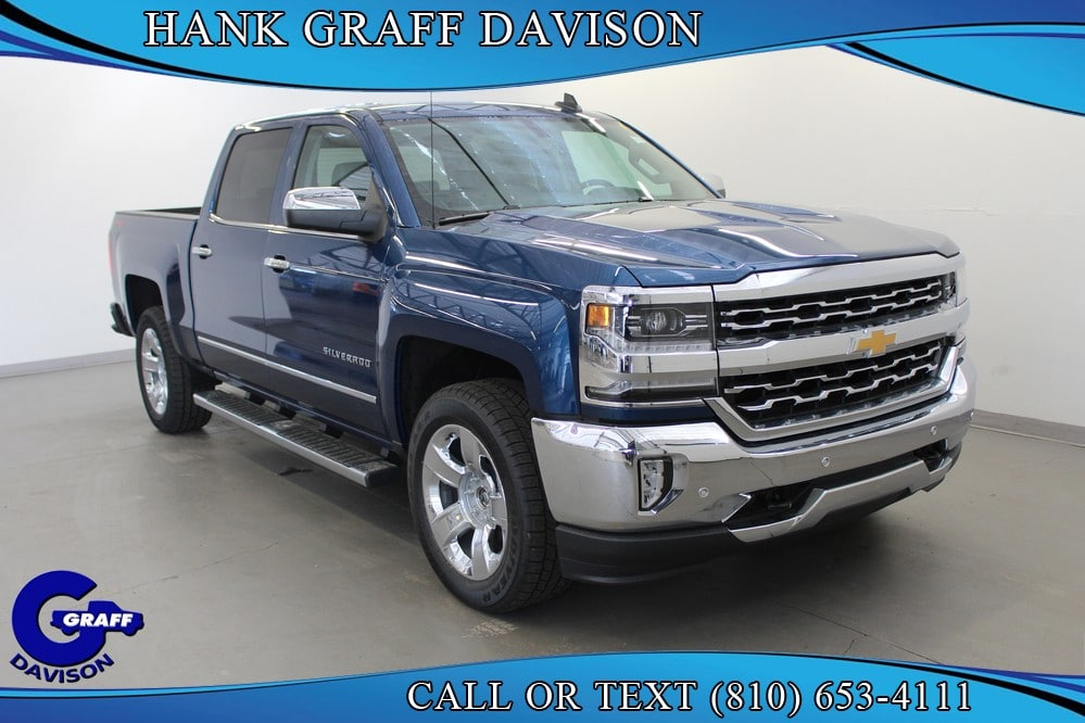2018 Silverado 1500 Crew Cab 4x4,  Pickup #6-13015 - photo 9