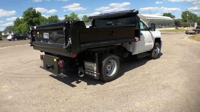 2018 Silverado 3500 Regular Cab DRW 4x4,  Monroe Dump Body #6-14012 - photo 9