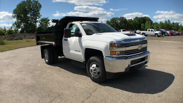 2018 Silverado 3500 Regular Cab DRW 4x4,  Monroe Dump Body #6-14012 - photo 4