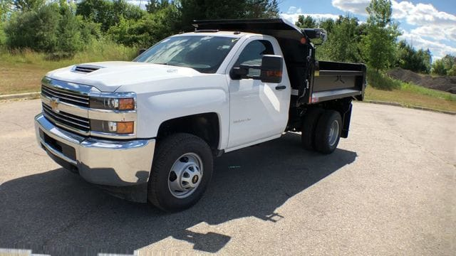 2018 Silverado 3500 Regular Cab DRW 4x4,  Monroe Dump Body #6-14012 - photo 6