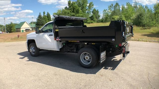 2018 Silverado 3500 Regular Cab DRW 4x4,  Monroe Dump Body #6-14012 - photo 2
