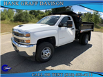 2018 Silverado 3500 Regular Cab DRW 4x4,  Monroe Dump Body #6-14012 - photo 1