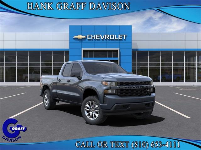 2021 Chevrolet Silverado 1500 Double Cab 4x4, Pickup #6-23893 - photo 1