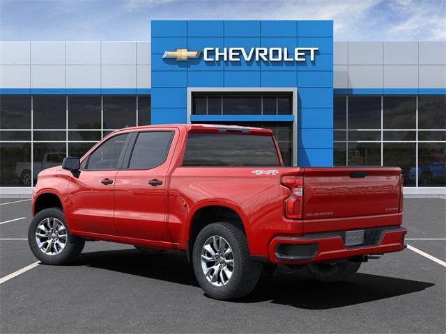 2021 Chevrolet Silverado 1500 Crew Cab 4x4, Pickup #6-24215 - photo 5