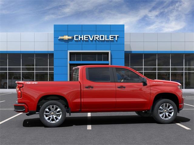 2021 Chevrolet Silverado 1500 Crew Cab 4x4, Pickup #6-24215 - photo 6