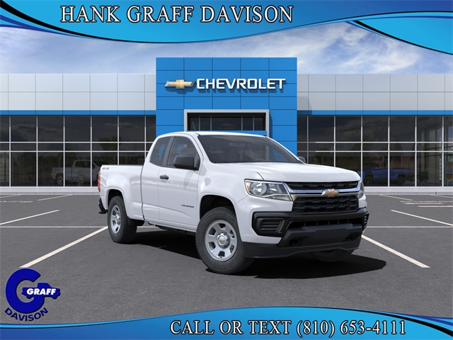 2021 Chevrolet Colorado Extended Cab 4x4, Pickup #6-24919 - photo 1