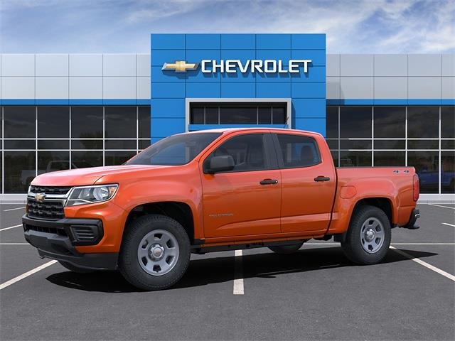 2021 Chevrolet Colorado Crew Cab 4x4, Pickup #6-25141 - photo 3