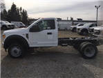 2017 F-550 Regular Cab DRW 4x4, Hoekstra Equipment Cab Chassis #HDA02260 - photo 1