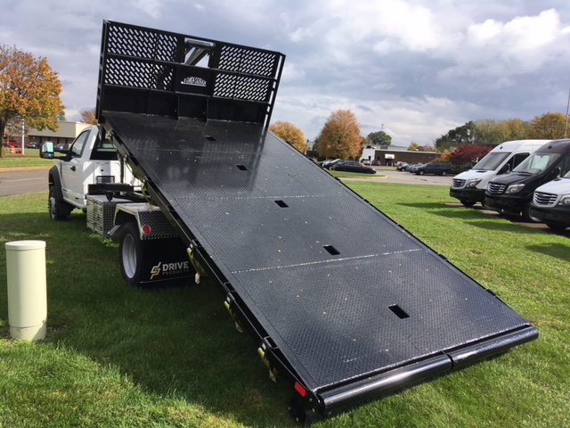 2017 F-550 Regular Cab DRW 4x4, Platform Body #HDA07769 - photo 2