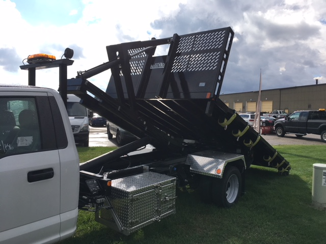 2017 F-550 Regular Cab DRW 4x4, Platform Body #HDA07769 - photo 3