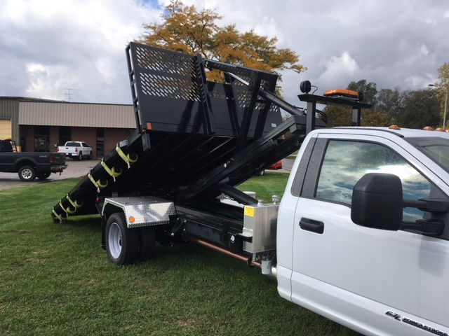 2017 F-550 Regular Cab DRW 4x4, Platform Body #HDA07769 - photo 5