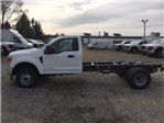 2017 F-350 Regular Cab DRW 4x4, Hoekstra Equipment Cab Chassis #HEC04258 - photo 1