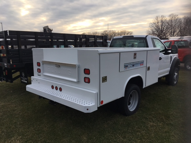 2017 F-450 Regular Cab DRW 4x4, Service Body #HEC47661 - photo 2