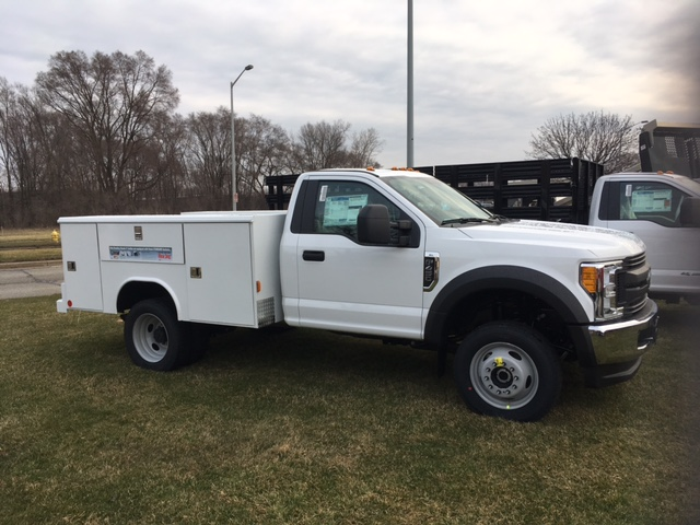 2017 F-450 Regular Cab DRW 4x4, Service Body #HEC47661 - photo 3